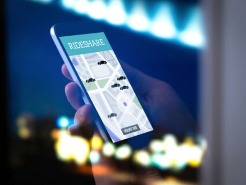 ride sharing app