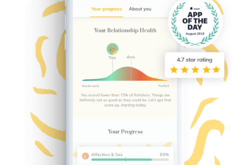 Use the Relish App for Self-Help Solutions to Your Relationship Problems